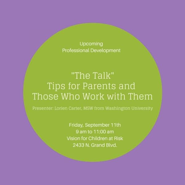 "Having ""The Talk"" Image"